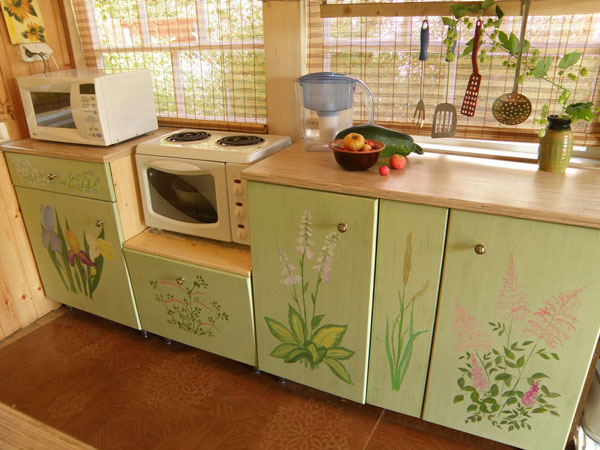Идей кухонный гарнитур своими руками